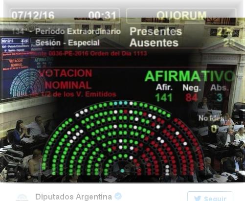La oposición logró imponer su proyecto de Ganancias en la Cámara de Diputados