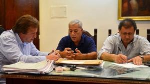 Las nuevas autoridades del SUOyEM se reunieron con el Intendente Varisco