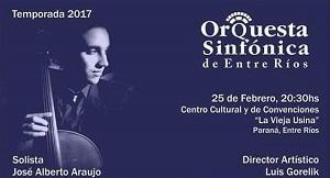 Orquesta Sinfónica de Entre Ríos. Temporada 2017