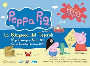 Peppa Pig llega a Santa Fe