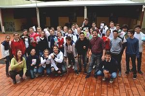 El equipo de Senado Juvenil comenzó la recorrida provincial