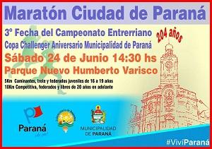 """Nueva edición de la """"Maratón de la Ciudad"""""""