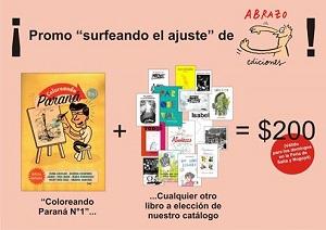 Promo Abrazo Ediciones Paraná en la Feria de Salta y Nogoyá
