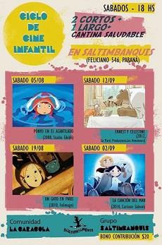 Ciclo de cine infantil