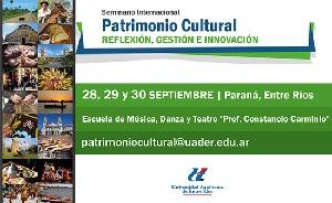 Seminario Internacional de Patrimonio Cultural