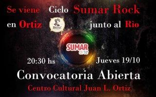 Convocatoria de Sumararte para músicos locales y de la región
