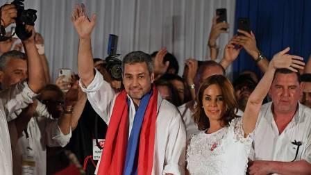 Ajustado triunfo colorado en las presidenciales de Paraguay