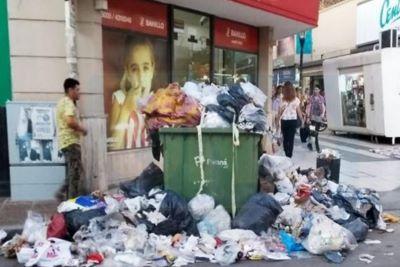 Recién el martes podría normalizarse la recolección de residuos en Paraná
