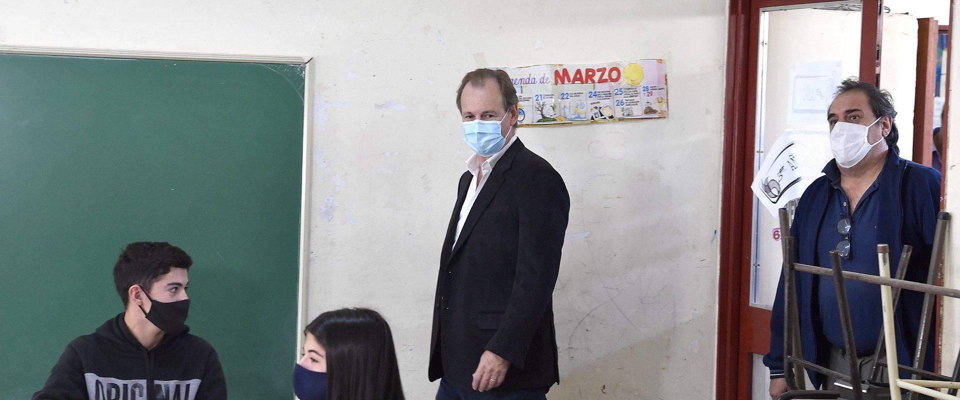 Bordet gestionó obras de infraestructura educativa ante Nación